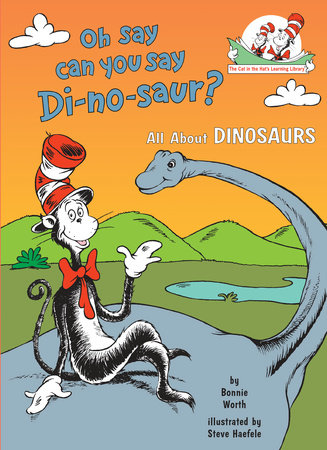 Oh Say Can You Say Di-no-saur? Cover