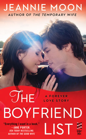 The Boyfriend List by Jeannie Moon