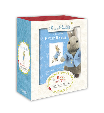 Peter Rabbit Book and Toy by Beatrix Potter