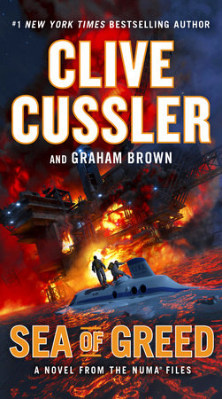 Sea of Greed by Graham Brown,Clive Cussler