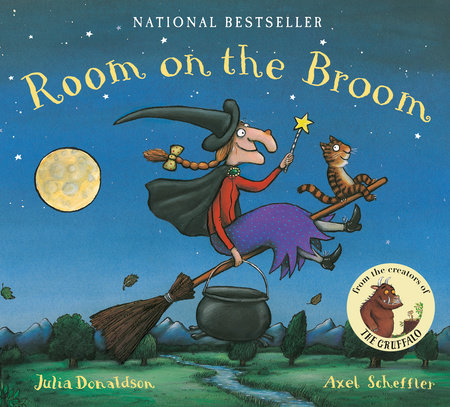 Room on the Broom Lap Board Book by Julia Donaldson