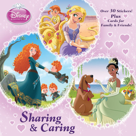 Sharing & Caring (Disney Princess) by Courtney Carbone