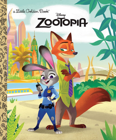 Zootopia Little Golden Book (Disney Zootopia) by Heather Knowles