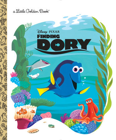 Finding Dory Little Golden Book (Disney/Pixar Finding Dory) by RH Disney