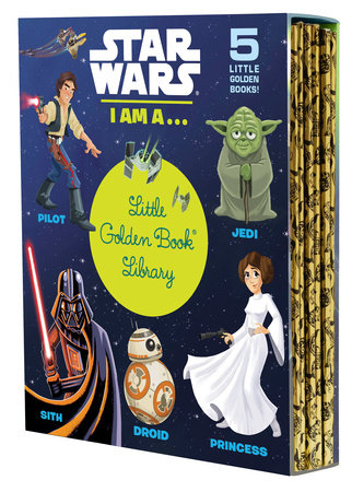 Star Wars: I Am a...Little Golden Book Library (Star Wars) by Various