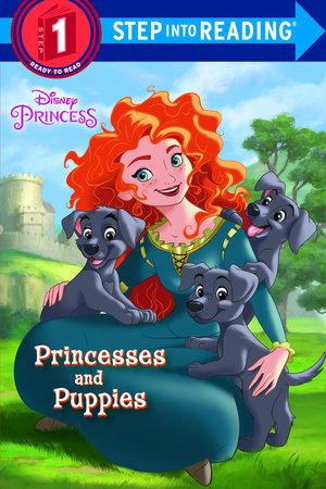 Princesses and Puppies (Disney Princess) by Jennifer Liberts