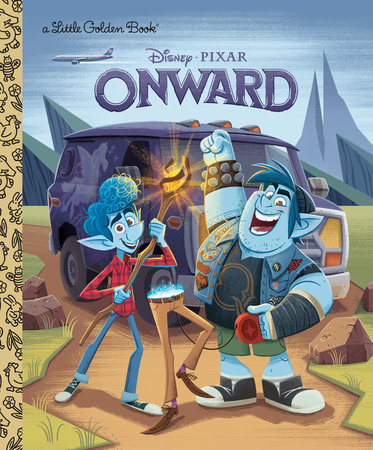 Onward Little Golden Book (Disney/Pixar Onward) by