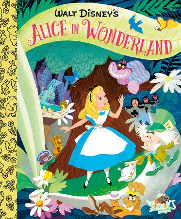 Walt Disney's Alice in Wonderland Little Golden Board Book (Disney Classic) by RH Disney