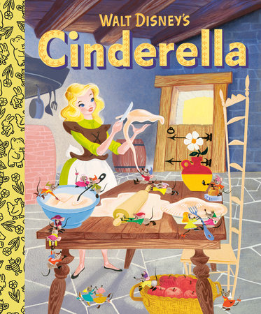 Walt Disney's Cinderella Little Golden Board Book (Disney Classic) by RH Disney