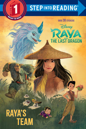 Raya and the Last Dragon Step into Reading #1 (Disney Raya and the Last Dragon)