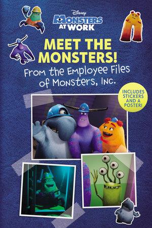 Meet the Monsters! (Disney Monsters at Work) by RH Disney