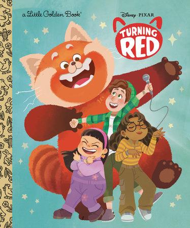 Disney/Pixar Turning Red Little Golden Book