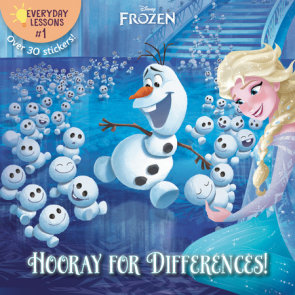 Everyday Lessons #1: Hooray for Differences! (Disney Frozen)