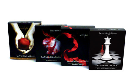 Stephenie Meyer: Twilight/New Moon/Eclipse/Breaking Dawn CD Ppk