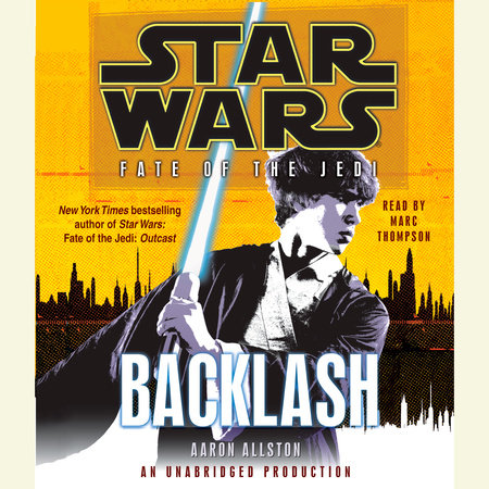 Backlash: Star Wars Legends (Fate of the Jedi) by Aaron Allston