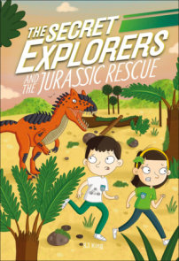 The Secret Explorers and the Jurassic Rescue  (Library Edition)