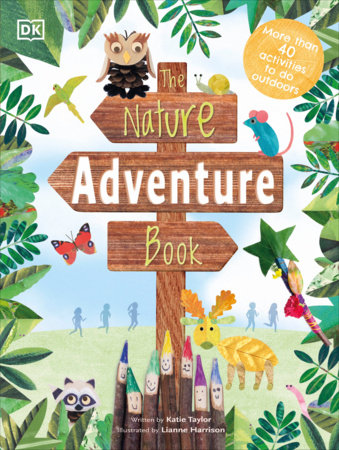 The Nature Adventure Book by DK