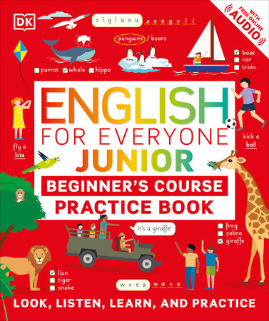English for Everyone Junior Beginner's Practice Book by DK