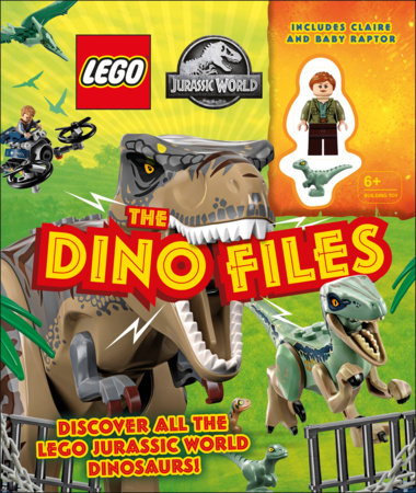 LEGO Jurassic World The Dino Files by Catherine Saunders