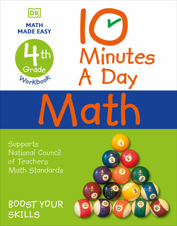 10 Minutes a Day Math, 4th Grade by Carol Vorderman