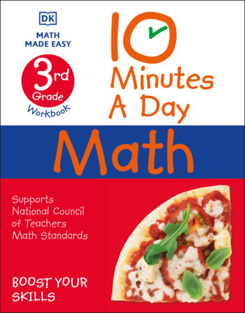 10 Minutes a Day Math, 3rd Grade by DK