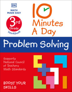 10 Minute a Day Problem Solving, 3rd Grade