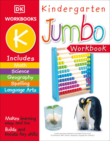 Jumbo Kindergarten Workbook by DK Publishing