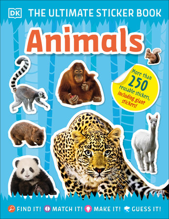 The Ultimate Sticker Book Animals by DK