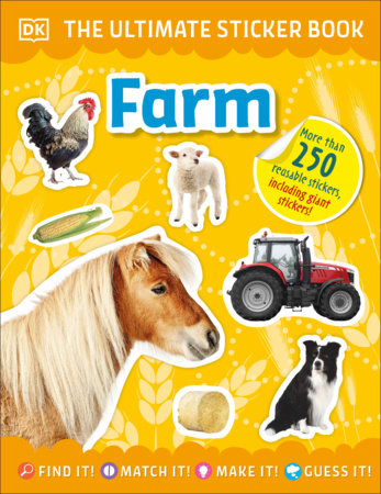 The Ultimate Sticker Book Farm by DK