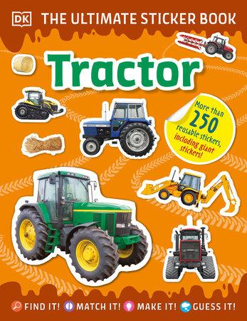 The Ultimate Sticker Book Tractor by DK