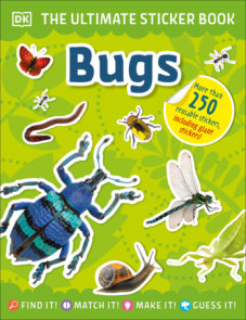 The Ultimate Sticker Book Bugs