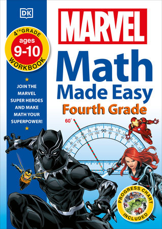 Marvel Math Made Easy, Fourth Grade by DK