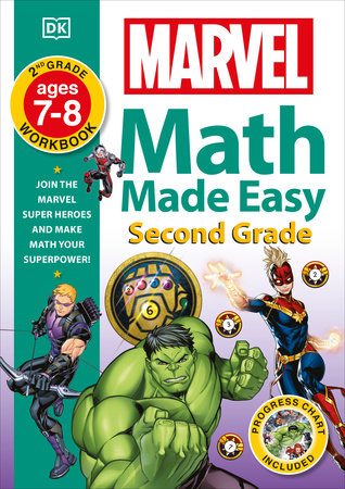 Marvel Math Made Easy, Second Grade by DK