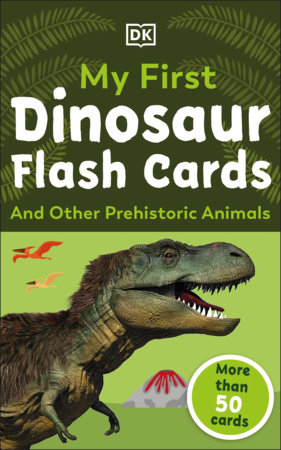 My First Dinosaur Flash Cards by DK