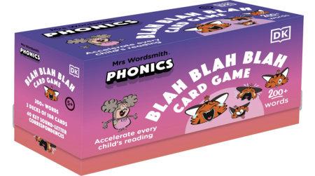 Mrs Wordsmith Phonics Blah Blah Blah Card Game, Kindergarten & Grades 1-2 by Mrs Wordsmith