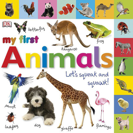 Tabbed Board Books: My First Animals by DK