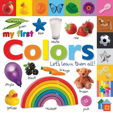 Tabbed Board Books: My First Colors by DK