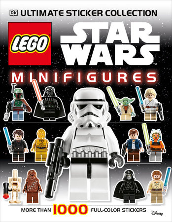 Ultimate Sticker Collection: LEGO® Star Wars: Minifigures by Shari Last