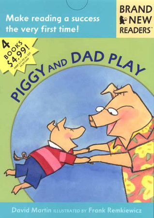 Piggy and Dad Play by David Martin