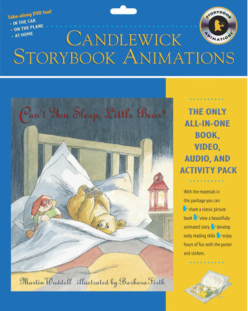 Can't You Sleep, Little Bear?: Candlewick Storybook Animations by Martin Waddell