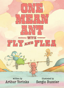 One Mean Ant with Fly and Flea