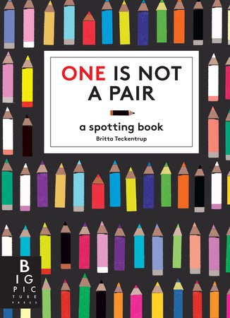 One Is Not a Pair by Britta Teckentrup