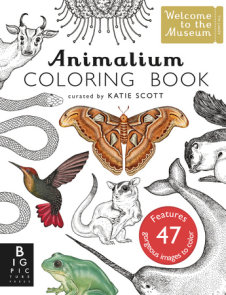 Animalium Coloring Book