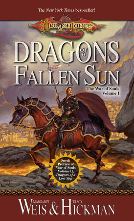 Dragons of a Fallen Sun by Margaret Weis and Tracy Hickman