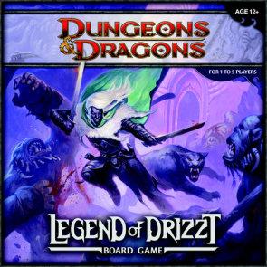 Legend of Drizzt Board Game