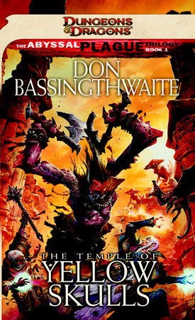 The Temple of Yellow Skulls by Don Bassingthwaite