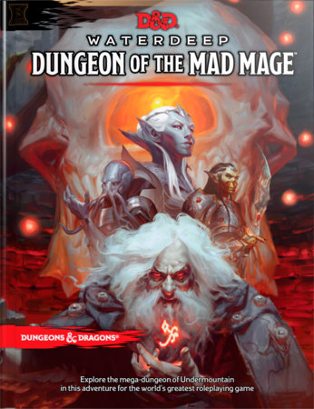 Dungeons & Dragons Waterdeep: Dungeon of the Mad Mage (Adventure Book, D&D Roleplaying Game) by Wizards RPG Team