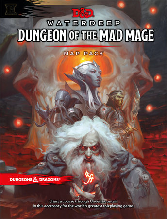 Dungeons & Dragons Waterdeep: Dungeon of the Mad Mage Maps and Miscellany (Accessory, D&D Roleplaying Game) by