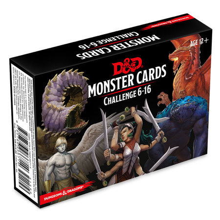 Dungeons & Dragons Spellbook Cards: Monsters 6-16 (D&D Accessory) by
