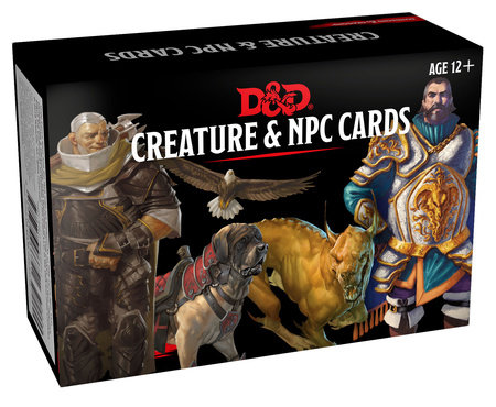 Dungeons & Dragons Spellbook Cards: Creature & NPC Cards (D&D Accessory) by